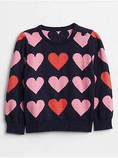 Baby Heart Sweater