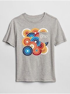 GapKids 50th Anniversary Logo Graphic Pocket T-Shirt