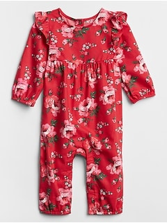 Baby Flutter Long Sleeve One-Piece
