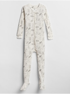 babyGap Print Footed One-Piece
