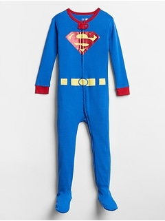 babyGap| DC™ Superman Footed One-Piece