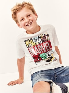 GapKids | Marvel© Flippy Sequin T-Shirt