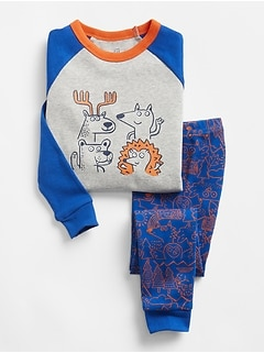 babyGap Graphic PJ Set