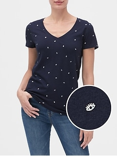 Print Short Sleeve T-Shirt