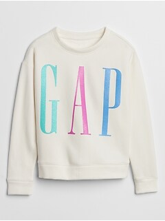 Kids Gap Logo Crewneck Sweatshirt