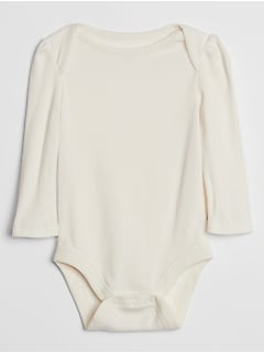 Baby Ribbed Bodysuit