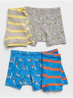 Kids Print Boxer Briefs (4-Pack)