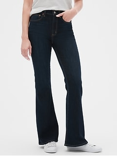 Hig Rise Flare Jeans
