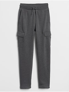 Kids Cargo Fleece Joggers