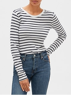 Favorite Stripe Long Sleeve T-Shirt