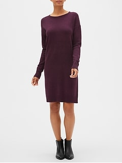 Crewneck Sweater Dress
