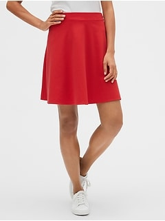 Fit and Flare Skirt in Ponte
