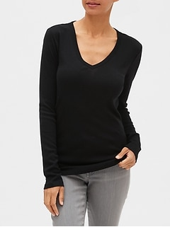 Favorite V-Neck Long Sleeve T-Shirt