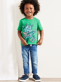 Toddler Crewneck Graphic T-Shirt