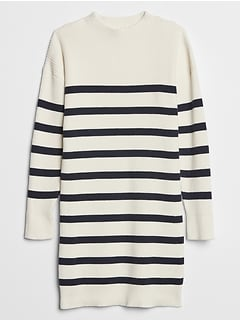 Kids Ribbed Sweater Dress