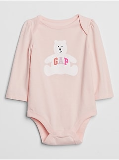 Baby Logo Graphic Bodysuit