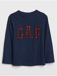 Toddler Gap Logo Long Sleeve T-Shirt