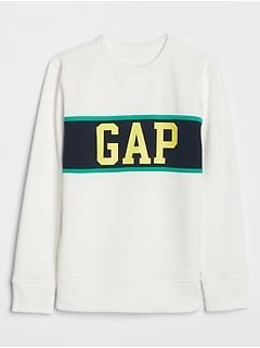 Kids Gap Logo Colorblock Sweatshirt