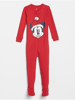 babyGap | Disney Mickey Mouse Footed One-Piece
