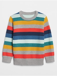 Toddler Crazy Stripe Sweater