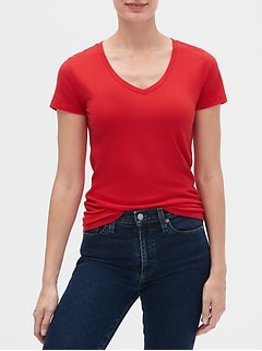 Short Sleeve V-Neck T-Shirt