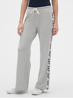 Gap Logo Side-Stripe Sweatpants