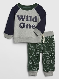 Baby Pull-On Pants Set