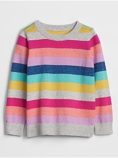 Toddler Intarsia Graphic Sweater