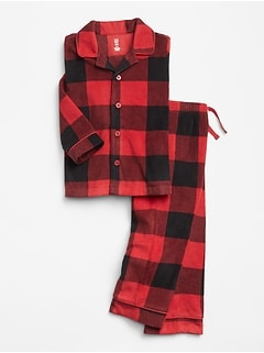 babyGap Plaid Pajama Set