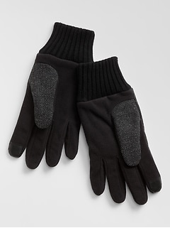 Herringbone Smartphone Gloves