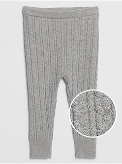 Baby Cable-Knit Leggings