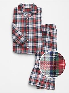 babyGap Flannel Pajama Set