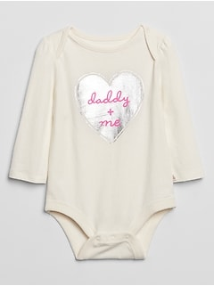 Baby Graphic Long Sleeve Bodysuit