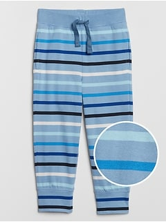 Toddler Stripe Pull-On Pants