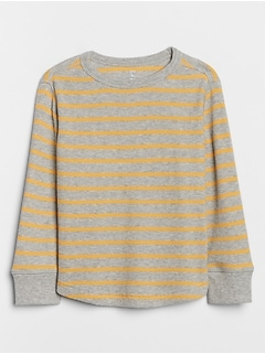 Toddler Stripe Long Sleeve Thermal