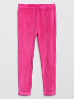 Toddler Leggings in Velour