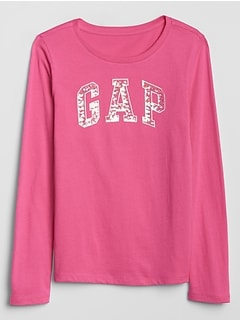 Kids Gap Logo Long Sleeve T-Shirt