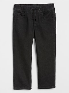 Toddler Pull-On Slim Knit Jeans