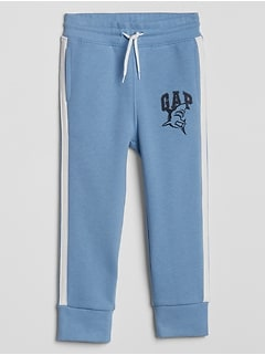 Toddler Gap Logo Side-Stripe Fleece Joggers