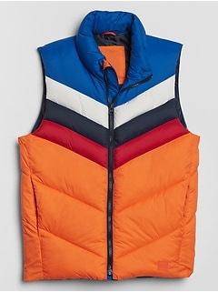 Kids Colorblock Puffer Vest