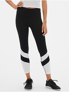 GapFit High Rise Colorblock Sport Compression Leggings