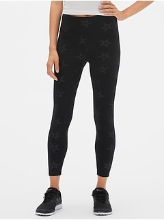 GapFit High Rise Print Sport Compression Leggings