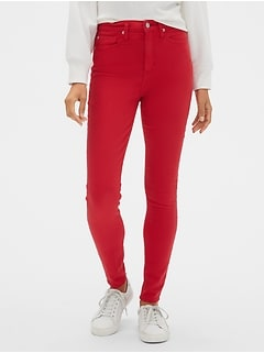 High Rise Legging Skimmer Jeans