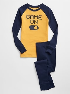 Kids Video Game Graphic PJ Set