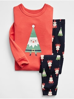 babyGap Elf Graphic PJ Set