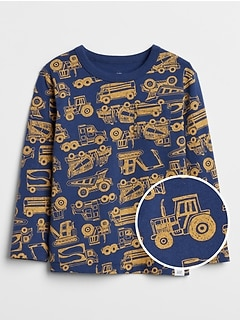 Toddler Print Long Sleeve T-Shirt
