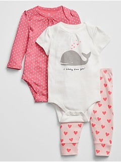 Baby Bodysuit Pants Set