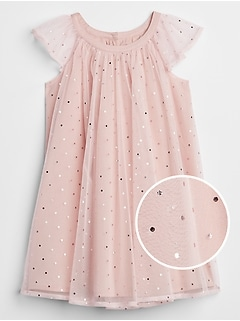 Toddler Flutter Sparkle Tulle Dress