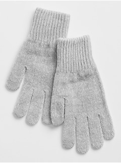 Chenille Smartphone Gloves