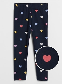Toddler Leggings in Stretch Jersey